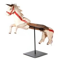 Mexican ceremonial horse figure