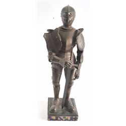 1905- 6 MINIATURE SUIT OF ARMOR