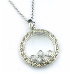 19CAI-59 DANCING DIAMOND PENDANT