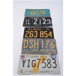 19LP-12 LICENSE PLATE LOT