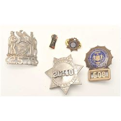 18DC-40 3 BADGES & PIN