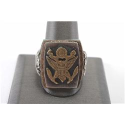 19MS-107 WWII ERA RING