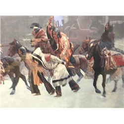 19PA-16 FREDERIC REMINGTON PRINT