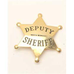 18DC-64 DEPUTY SHERIFF BADGE