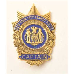 18DC-33 CAPTAIN BADGE
