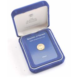 19NO- 34 20 BALBOAS GOLD COIN