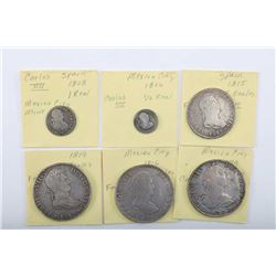 19NO- 29 5 COINS 18TH -19TH CENTURY