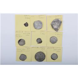 19NO- 30 11 COINS 18TH -19TH CENTURY
