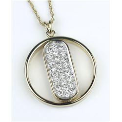19CAI-19 DIAMOND PENDANT