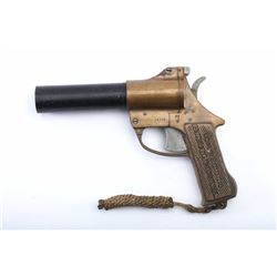 19RH-147 BRASS FLARE GUN