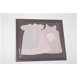19RG-4 BABY DRESSES FRAMED