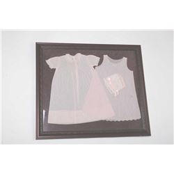 19RG-4 BABY DRESSES FRAMED