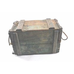 19MS-19 WWII AMMO CRATE