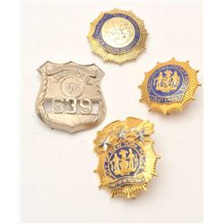 18DC-22D BADGE LOT