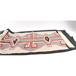 19OX- 13 NAVAJO REGIONAL RUG DAMAGED