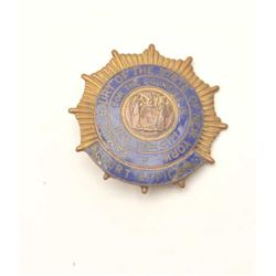 18DC-12 OLD NEW YORK BADGE