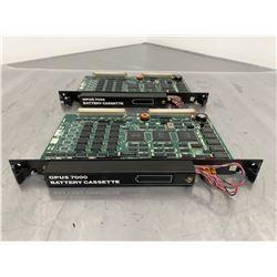 (2) OKUMA E4809-045-201 Memory Board w/ E8049-090-012 Battery