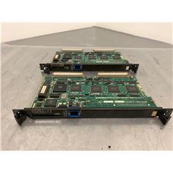 (2) OKUMA E4809-045-145-C OPUS7000 Main Board w/ E4809-436-060-B