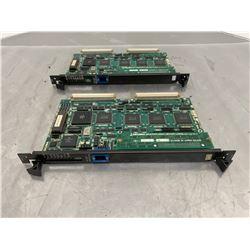(2) OKUMA E4809-045-148-C OPUS7000 Main Board w/ E4809-436-060-B
