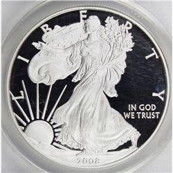 2008-W AMERICAN SILVER EAGLE