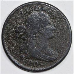 1805 HALF CENT