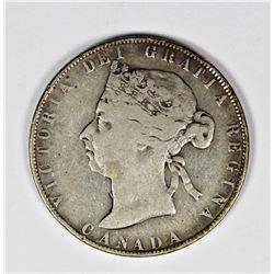 1900 CANADA HALF DOLLAR