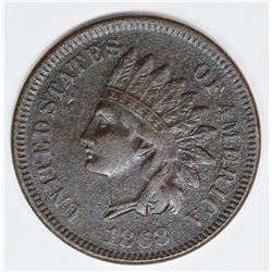 1868 INDIAN CENT