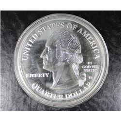 FOUR  OUNCES .999 SILVER ROUND