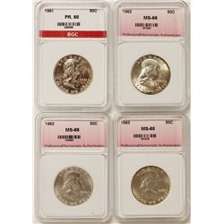 FRANKLIN HALF DOLLAR LOT: