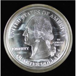 FOUR OUNCE .999 SILVER ROUND