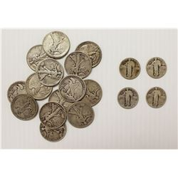 18 PCS COIN LOT:
