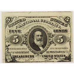 FIVE CENT FRACTIONAL 1863 FR1239