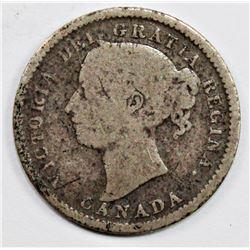 1889 CANADA DIME