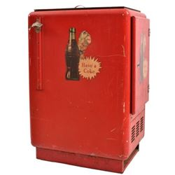 1950's Coca-Cola Vending Machine All Original