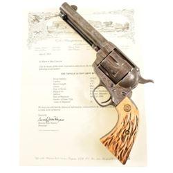 Engraved Colt Model 1873 SA .45 Revolver