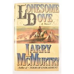 "Larry McMurtry ""Lonesome Dove"" 1st Edition Novel"