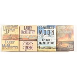Larry McMurtry Lonesome Dove Series 1st Editions