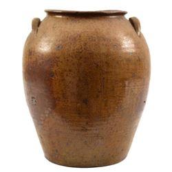 Wilson Early Texas Pottery 6 Gallon Ovoid Jar
