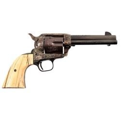 Texas Ranger Captain Jack Dean's Engraved Colt SAA