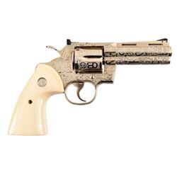 Jack Dean's Ranch Brand Engraved Colt Python .357