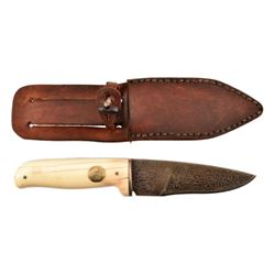 Texas Ranger Jack Dean's Custom Damascus Knife