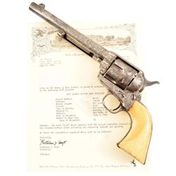 New York Engraved Colt Model 1873 SAA