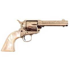 Engraved Colt Model 1873 Single Action .45