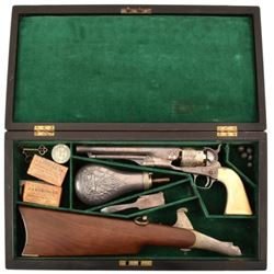 Cased New York Engraved Colt Model 1860 Army