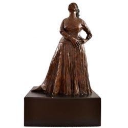 "R.C. Gorman ""Natoma"" EPI Original Bronze Sculpture"