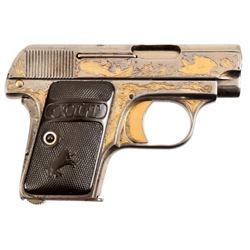 Engraved Colt Model 1908 Vest Pocket .25 ACP