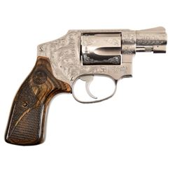 Engraved Smith & Wesson Model 640 .38
