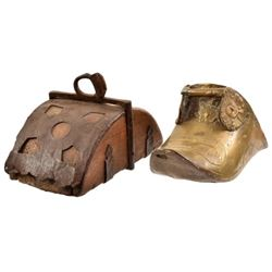 Two Spanish Colonial Stirrups