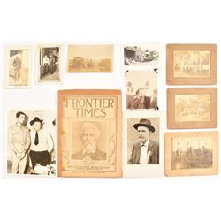 Vintage Texas Ranger & Other Photos N.H. Rose