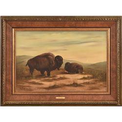 Billy Saathoff Original Oil Painting